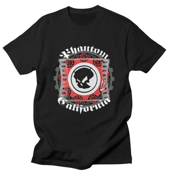 Phantom California LA (BW) TShirt