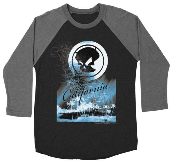 Phantom California Night Baseball Shirt